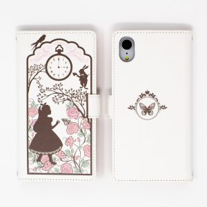 alice in wonderland wallet flip iphone case