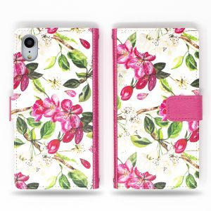 Cherry Blossoms Wallet Case for iPhone