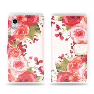 Rose Flowers Wallet Case for iPhone