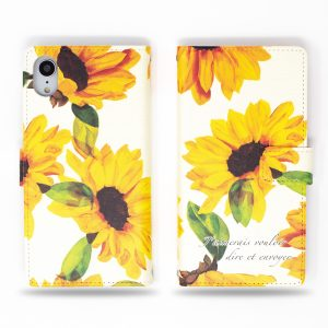 Sunflower Wallet Case for iPhone
