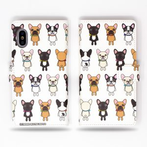 French Bulldog Wallet Case for iPhone
