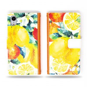 Orange and Lemon Wallet Case for iPhone