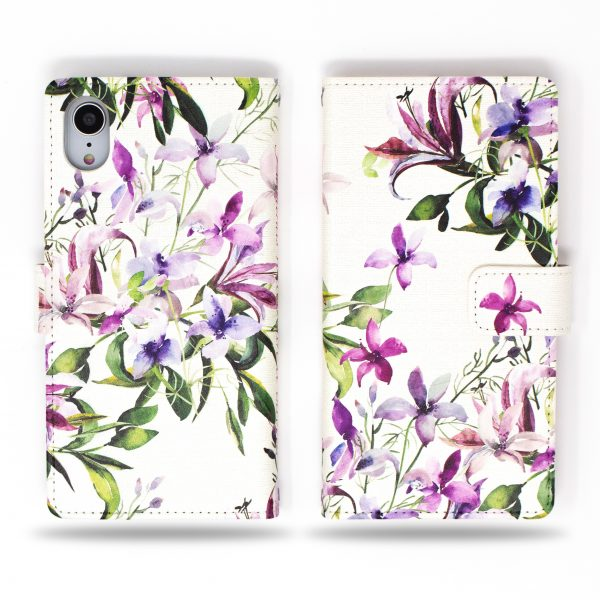Isotoma Flowers Wallet Case for iPhone